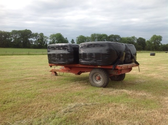moving the bales